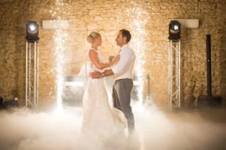 Dimfeel_events_elegance_dj_musicens_prestige_mariage_herault_34_montpellier_ouverture de bal_fontaines à étincelles